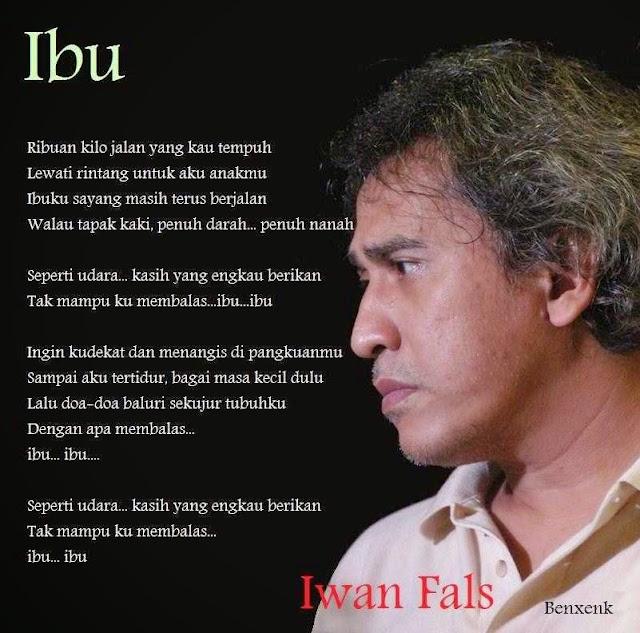Iwan Fals - Lirik lagu Ibu