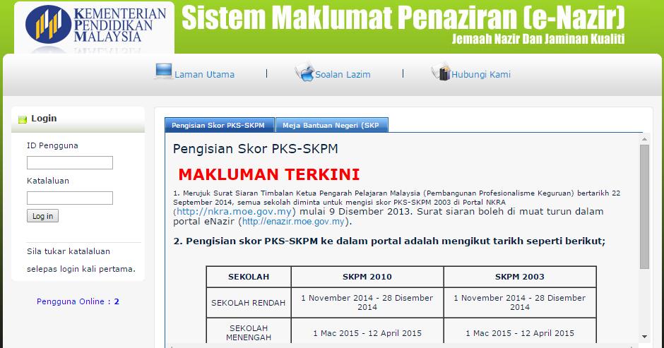 Mieya Nawawi Sistem Maklumat Penaziran E Nazir