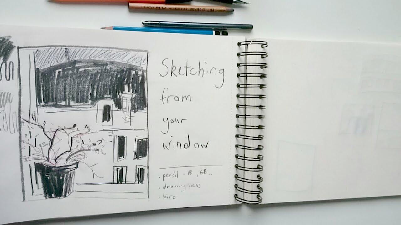 YouTube Channel! - art demos & sketchbook tours