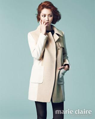 Go Joon Hee - Marie Claire November 2012