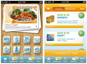 Kraft iFood Assistant 3.0 iPhone app released