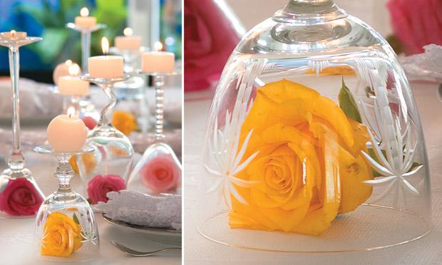 Enfeite De Xicara ~ Coisas da Kátia  Taças de cristal na decoraç u00e3o