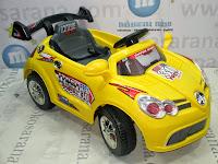 Mobil Mainan Aki Pliko PK8000 Mercedes Benz Yellow