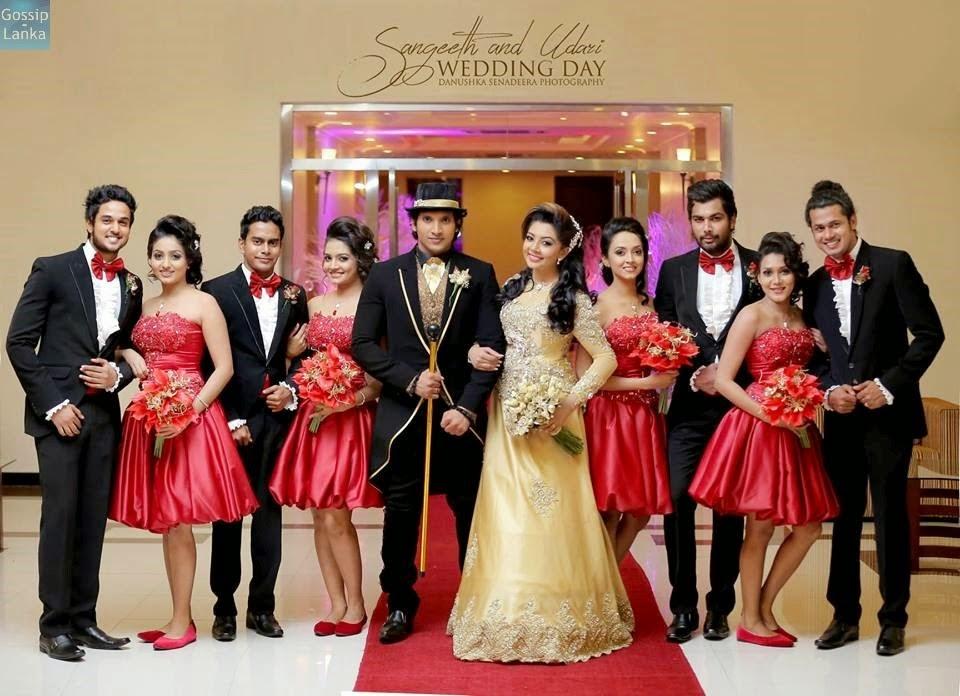 Our Lanka Udari Sangeeth Wedding Photos