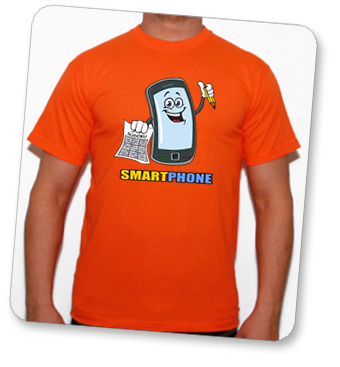 camiseta Smartphone en tuestilo.net
