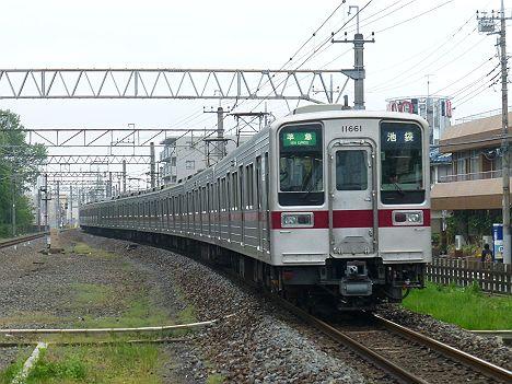 東武東上線 準急 池袋行き 9000系