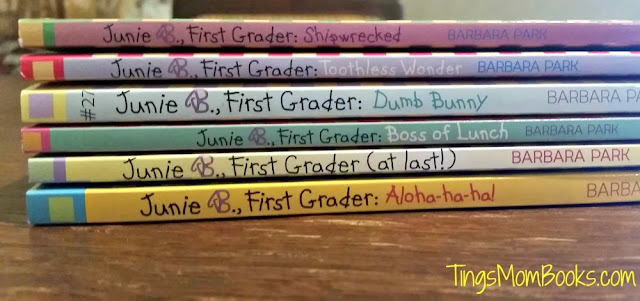 junie b first grader reader set