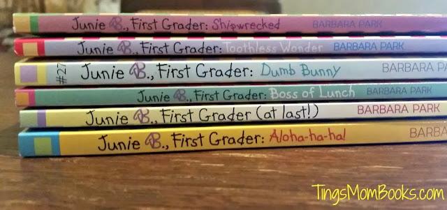 junie b first grader reader set