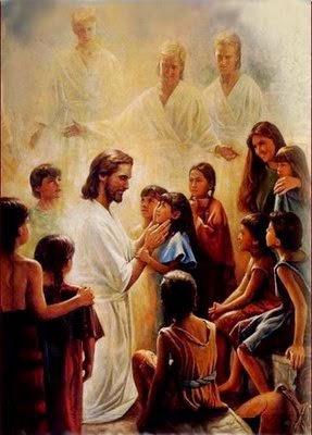 Jesus e os Espíritos de Luz