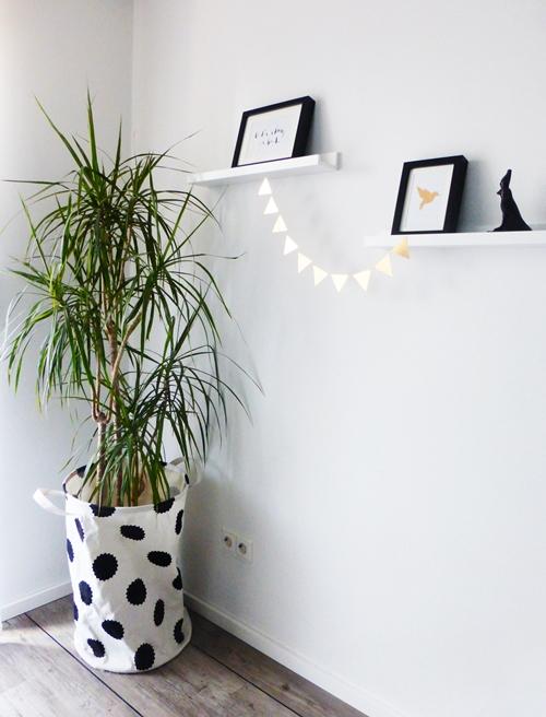 Dekoration Kupfer Pflanzen DIY