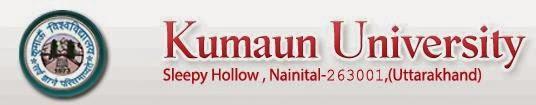 Kumaun University 2014, 2015 Results
