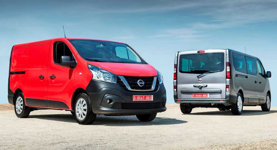 Nissan nv300 debuts in hannover with new badges lots of choices