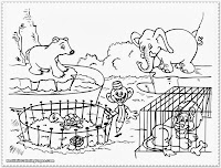 baby zoo animal coloring pages
