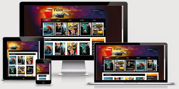 Film Reviews Responsive Blogger Template Free Download