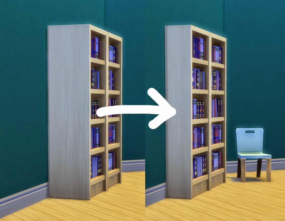 Very Impressive portraiture of My Sims 4 Blog: Towering Intellect Bookshelf Edits by plasticbox with #185A69 color and 1160x900 pixels