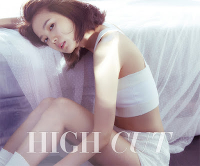 Yoon Seung Ah - High Cut Magazine Vol.154