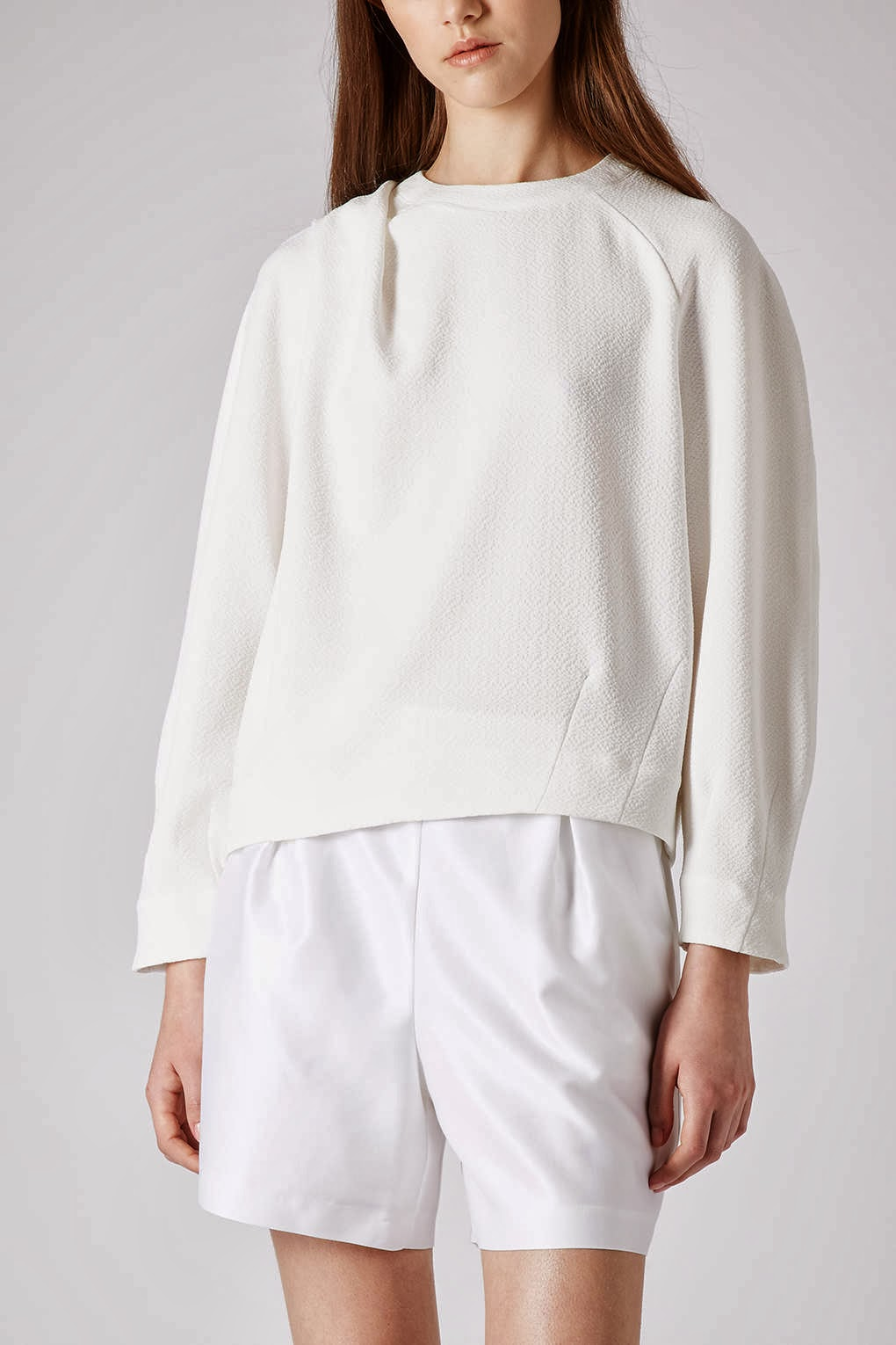 topshop white jumper