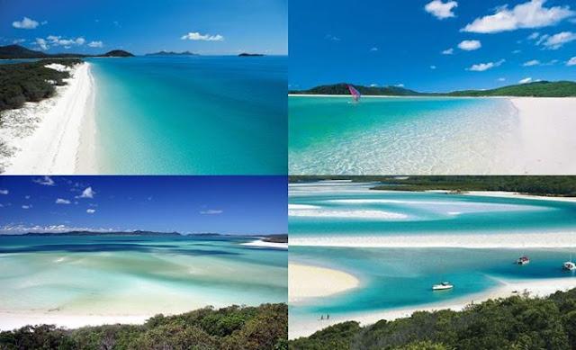 Whitehaven Pantai Terindah di Benua Australia