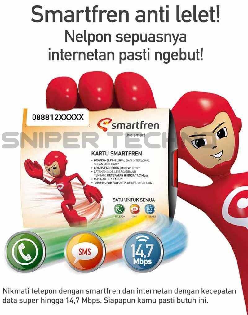 Cara Daftar Paket Internet Smartfren Lewat Modem