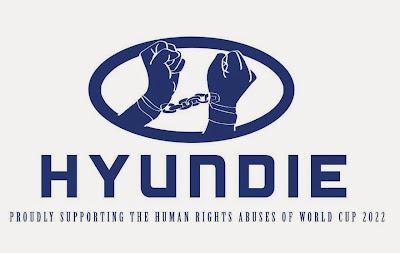 Hyundai logo parodia