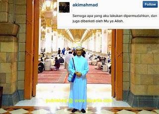 3 Gambar Akim Pergi Umrah Bersama 'Gelfren', info, terkin, hiburan, sensasi, gossip, akim ahmad