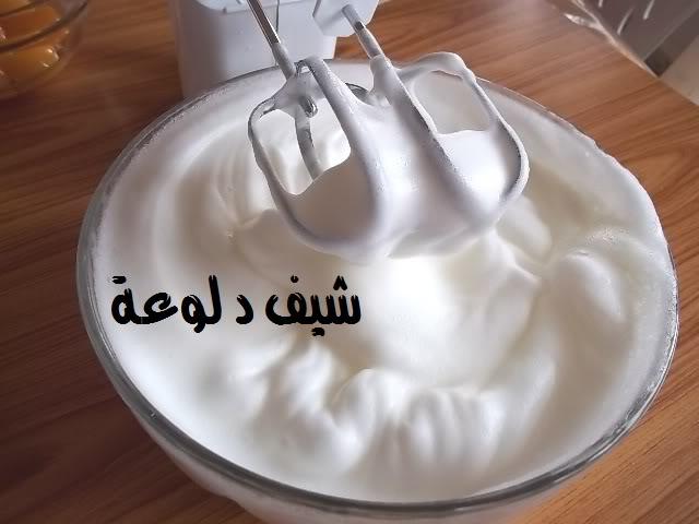7 الكيكه الاسفنجيه للشيف دلوعه