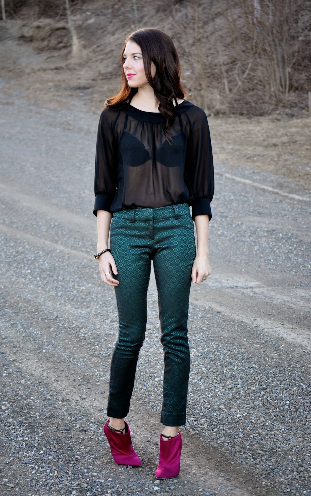 How to wear sheer tops