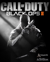 Black Ops 2 video game cover art
