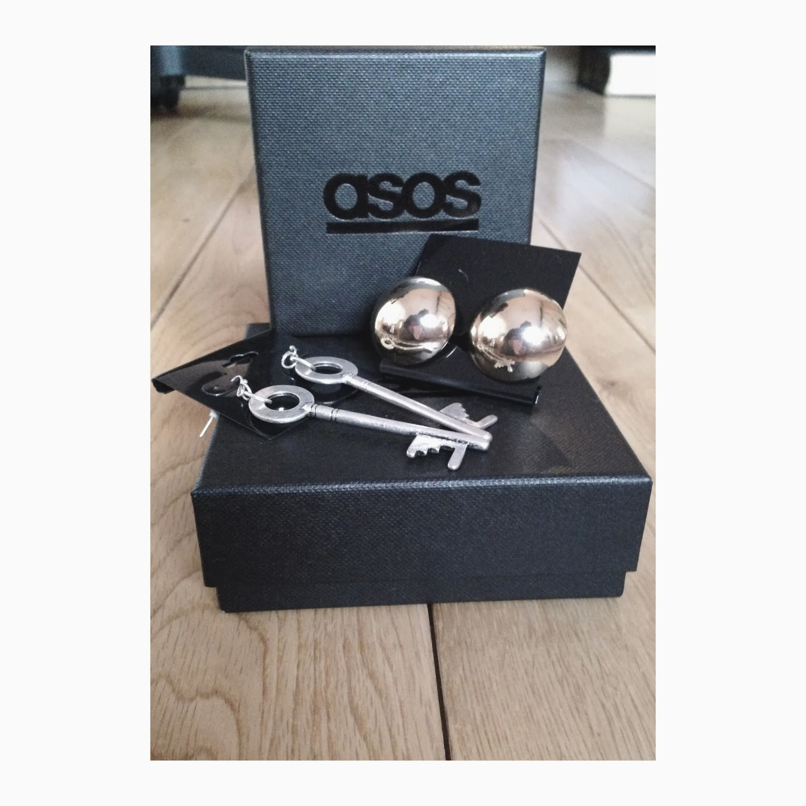 ASOS Key Earrings ASOS Gold Large Ball Stud Earrings
