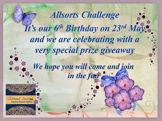 Happy 6th Birthday Allsorts