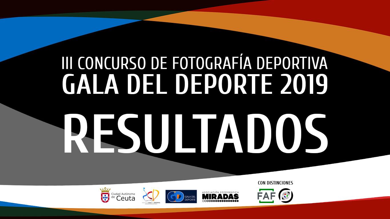 III Concurso 'Gala del Deporte' - RESULTADOS