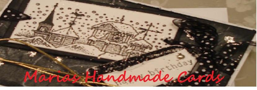 marias handmade cards