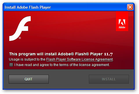 Adobe Flash Player 11.7.700.169 Full Version