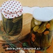 Voňavé nakladané uhorky - recept