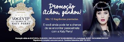 Participar promoção Avon Vip no show Katy Perry