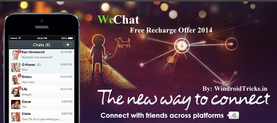 WeChat Free Recharge Offers