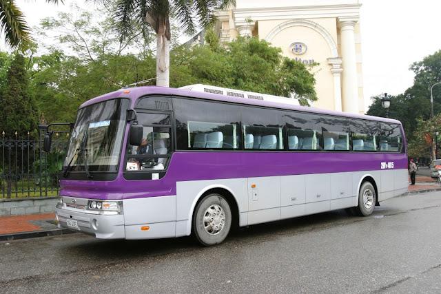 Cho thuê xe ở thành phố Đà Nẵng- thuê xe 45 chỗ