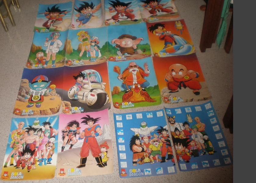 Posters y pegatinas fluorescentes - Dragon Ball