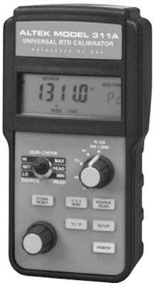 Universal RTD Calibrator