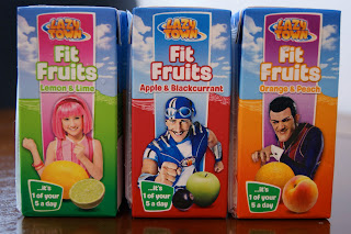 Lazy Town Fit Fruits Juice