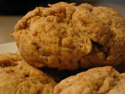 Whole Wheat Olive Oil Biscuits