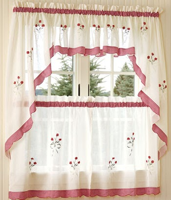 Interior Design Tips: Perfect Country Curtains For the Kitchen ...