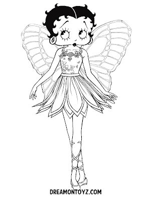 betty boop pictures archive new betty boop coloring pages and black and white pictures