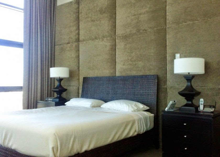 Cara mempercantik dinding dengan padded wall artikel for Padded wall wallpaper