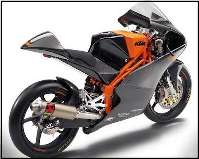 Gambar motor ktm duke 250 cc keren