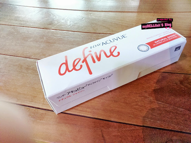 Launching 1 Day Acuvue Define.