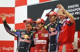 Ricciardo and friends.