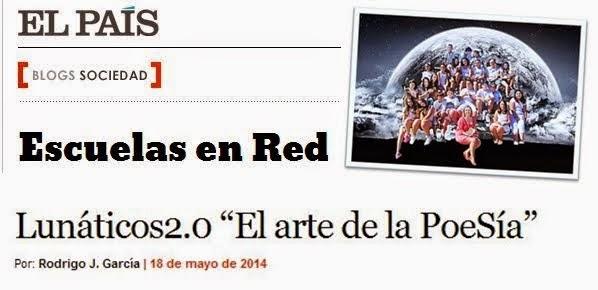 LunáTICos 2.0 en ESCUELAS EN RED de El País