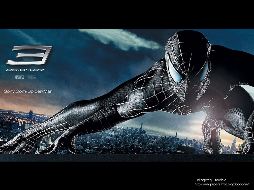 Free wallpaper dekstop spider man 3 wallpapers spider for Wallpaper three