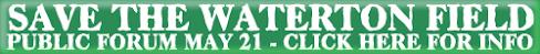 Save Waterton Field